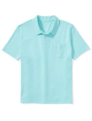 5) Amazon Essentials Men's Jersey Polo Shirt by DXL