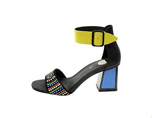 EXE Min-121 - Sandalias para mujer, multicolor