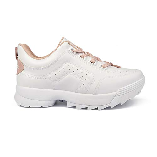 Tenis Dakota Dad Sneaker Feminino Branco 35