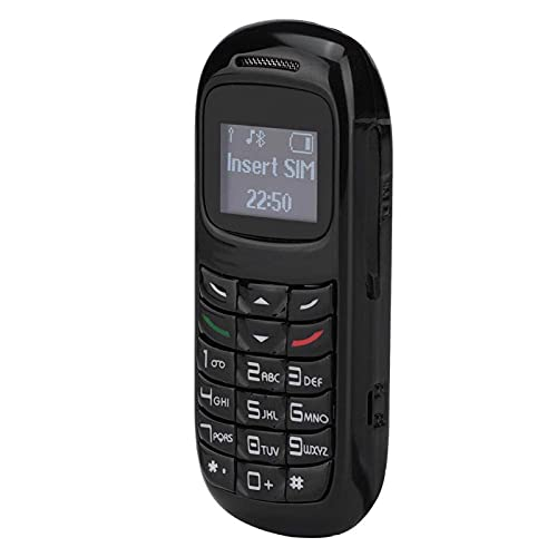 HJQFDC Mini teléfono, teléfono Celular con Gancho de la Oreja, teléfono portátil para máquina en Espera (Negro) Mei (Color : Black)