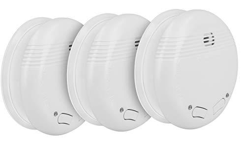 mumbi RMF150 Funkrauchmelder: 3 x Funk Rauchmelder/Feuermelder geprüft nach DIN EN 14604 - verlinkbar vernetzbar koppelbar