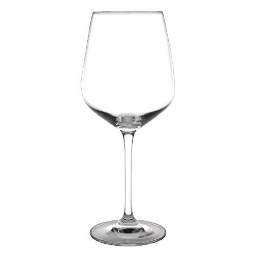 Olympia carillon Capacité Crystal Glass Wine: 17.5 oz / 495ml. Quantité, boite: 6.