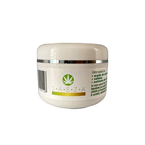 Crema Idratante per il corpo con Arnica, Caffeina e Olio di Cannabis 200 ml Saeza