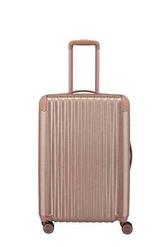 "TITAN Exklusive Eleganz: Gepäckserie ""BARBARA Glint"" Koffer, 67 cm, 68L, Rose Metallic"