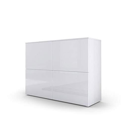 Kofkever Comò Moderno Bianco Skate, Mobile Soggiorno, credenza di Design