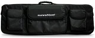 Novation 61 Soft Shoulder Bag for 61-Key MIDI Controller Keyboards, Black