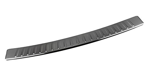 OptimumParts24 Ladeschutzkante Ladekantenschutz Chrome aus Edelstahl mit Abkantung passend für Zafira Tourer C P12 100% Edelstahl
