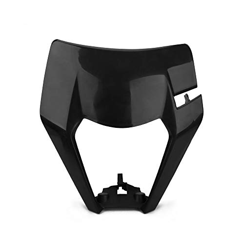 JFG Racing Máscara para Faros Delanteros de Motocicleta K.T.M 125 150 250 300 350 450 500 EXC XCW EXC-FF 2017 2018 Dirt Bike Enduro Motocross Supermotor