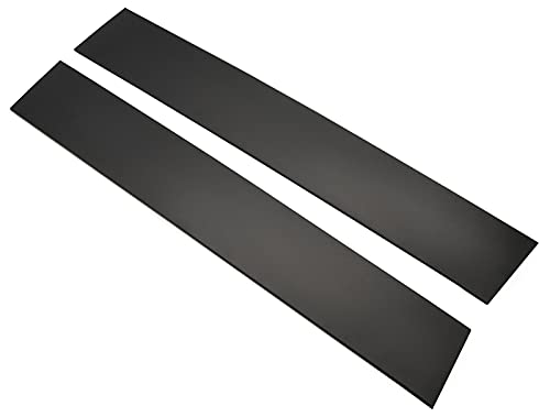 2PCS B Pillar Door Trim Molding Front Windshield Outer Trim Cover in Driver and Passenger Side Compatible for 2008-2016 Chrysler Town & Country 2008-2020 Dodge Grand Caravan 926-446 926-445
