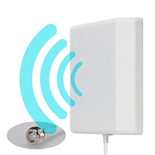 Antenna direzionale del pannello di montaggio a parete Lysignal Outdoor Indoor da 698 a 2700MHz 9dBi per il segnale di amplificatore mobile