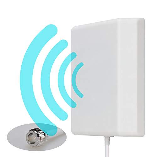 Antenna direzionale del pannello di montaggio a parete Lysignal Outdoor/Indoor da 698 a 2700MHz 9dBi per il segnale di amplificatore mobile