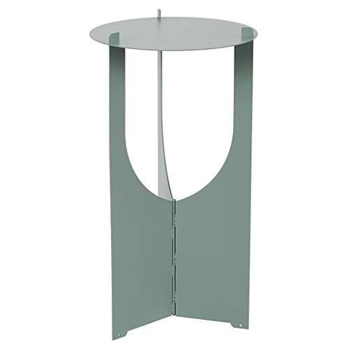 Support de fleur en métal Support à fleurs, art nordique de fer atterrissage pour le salon en métal - étagère pliante (Couleur : B1)
