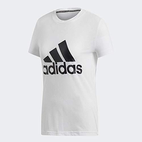adidas Damen T-Shirt Must Haves Badge of Sport, White, S, DZ0013