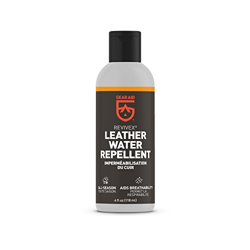 GEAR AID Revivex Leather Water Repellent Shoes and Boots, 4 fl oz