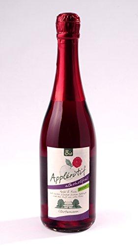 BIO Appléritif Apfel & Rose mit ARONIA - feinherb ALKOHOLFREI Obsthof Clostermann-Neuhollandshof Niederrhein 750 ml
