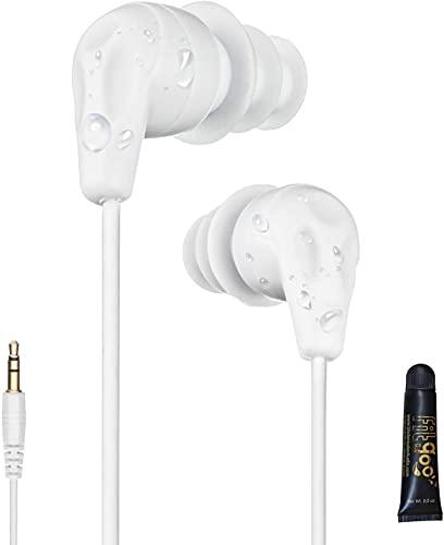 Swimbuds 100% Waterproof Headphones Designed for Flip Turns!