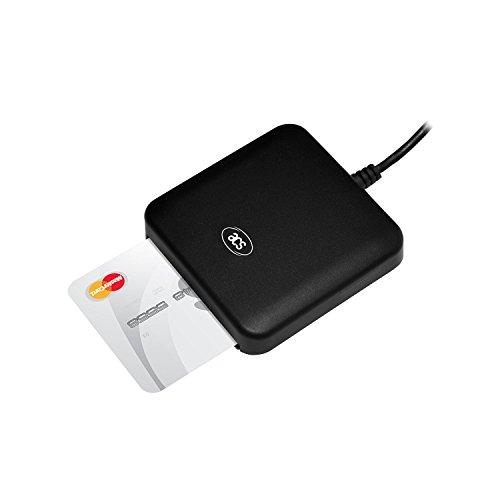 ACR39U-UFスマートカードリーダー非接触スマートカードリーダーTYPE-CフルスピードインターフェイスUSBタイプCコネクタISO7816クラスA、B、C(5V、3V、1.8V)カードをサポートCAC対応SIPRNETカードをサポートJ-LISをサポートカード