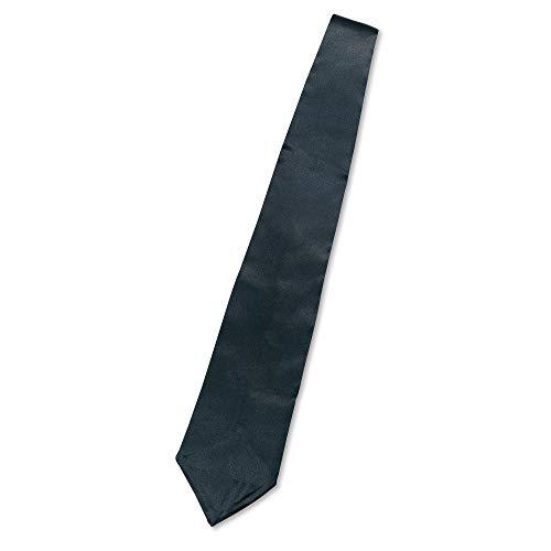 Bristol Novelty - Corbata para disfraz de Gangster (Tamao nico) (Negro)