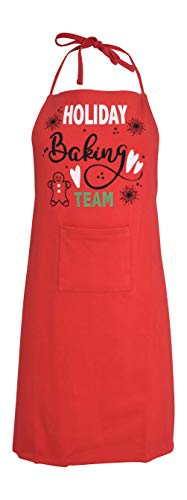 Unique Baby Mommy And Me Holiday Baking Team Christmas Apron (Kid, Baking)