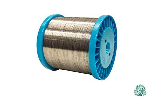 100 metros de alambre de resistencia de 0,35 mm CrAl255 alambre de calefacción 1.4765 de poliestireno para manualidades