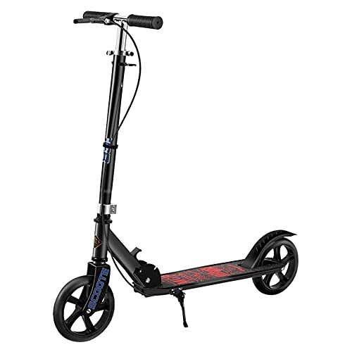 Un patinete apto para jóvenes | Plegable | 2 ruedas PU amortiguadoras,...