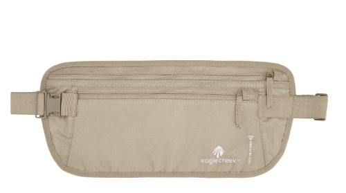 Eagle Creek RFID Blocker Travel Money Belt DLX, Tan