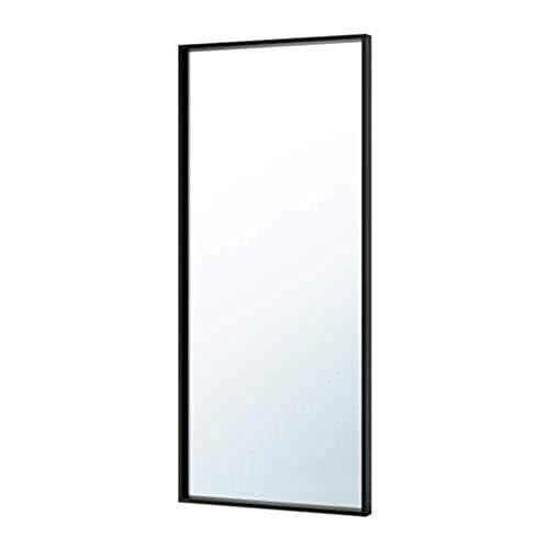 IKEA Nissedal Spiegel schwarz 703.203.19 Größe 25 5/8x59