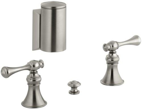 Review KOHLER K-16137-4A-BN Revival Bidet Faucet, Vibrant Brushed Nickel