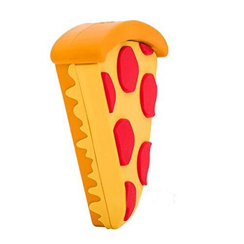 Longspeed Cartoon Pizza Design Dimensioni Portatili Caricabatteria per Cellulare Esterno Caricabatteria Esterno Power Bank Alimentazione per Smartphone-Multicolore Misto