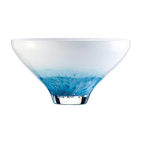 Zwiesel 1872 Vase, Glas, türkis, 40 x 30.5 x 22.3 cm