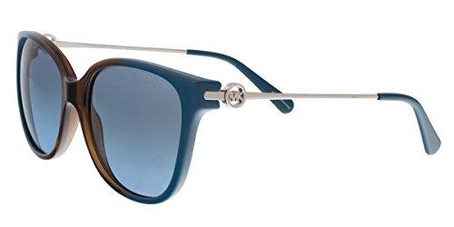 Michael Kors Damen Marrakesh MK6006 Sonnenbrille, Blau (blau/braun-blau/grau verlauf 300717), Medium (Herstellergröße: 57)