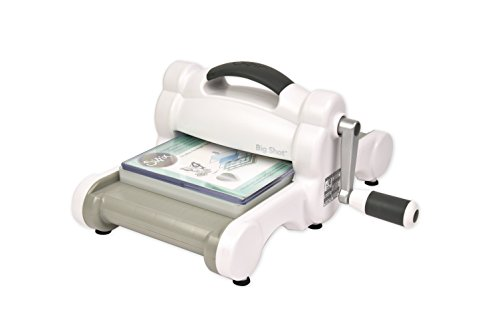 "Sizzix Big Shot 660200 Manual Die Cutting & Embossing Machine for Arts & Crafts, Scrapbooking & Cardmaking, 6"" Opening,Big Shot Machine Only"