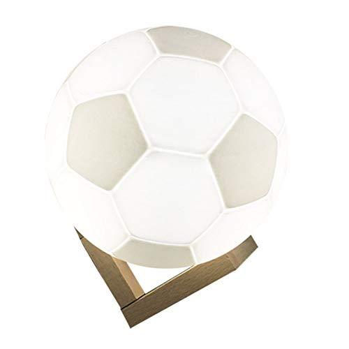 YLSMN 3D-Druck Fußball Lichter Sterne Mondlichter Mondlichter LED kreative Nachtlicht stillen led nachtlicht