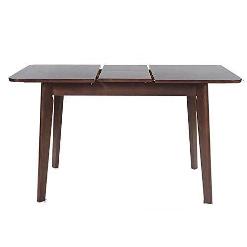 Decoración de muebles Mesa de comedor de cocina Mesa de comedor de madera maciza nórdica Mesa de comedor minimalista moderna Mesa de comedor plegable Mesa de comedor telescópica para apartamentos p