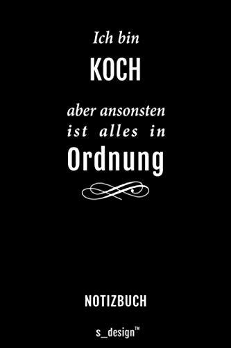 Notizbuch für Köche / Koch / Köchin: Originelle Geschenk-Idee [120 Seiten kariertes blanko Papier]