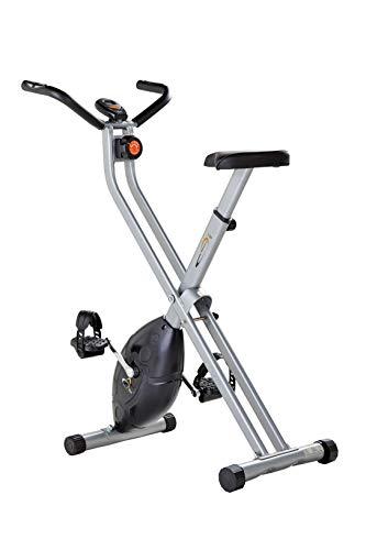 V-Fit MXC1 Folding - Bicicleta estática plegable con resistencia magnética...
