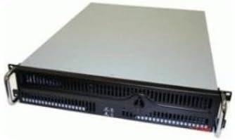 Compu Case Case RA251C00F 2U Rackmount 2/2/(3) Fan No Power Supply Black
