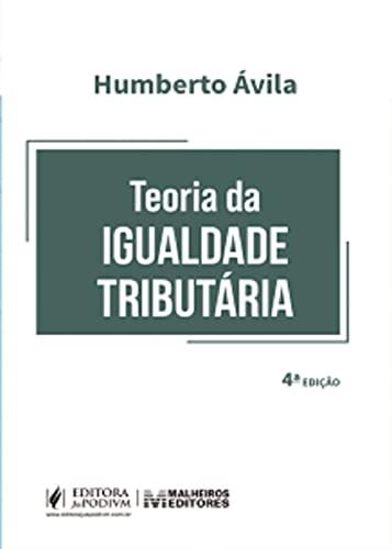 Teoria Da Igualdade Tributaria - 04ed/21