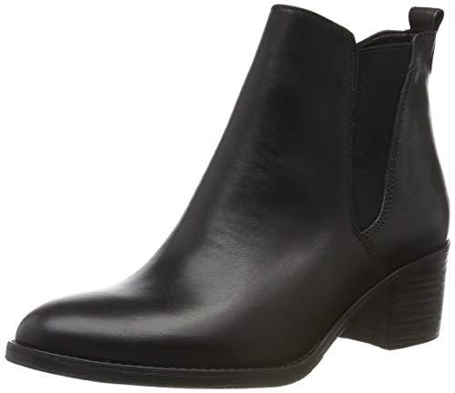 Tamaris Damen 1-1-25043-23 Chelsea Boots, Schwarz (Black 1), 38 EU