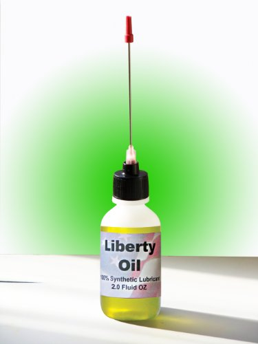Liberty Oil, 2oz Bottle of the Best 100% Synthetic Oil for Lubricating Skate Board and Roller Blade Wheel Bearings