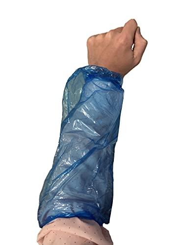 ProCES Arm/Sleeves Covers - Pack of 100 - Polyethylene - Blue - Painting, Repair,- 18'