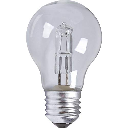TCP 18 W = 24 W A55 ES E27 Edison Schraubsockel ECO Halogen A55 Energiesparlampe dimmbar 220 V -240 V – 3 Stück