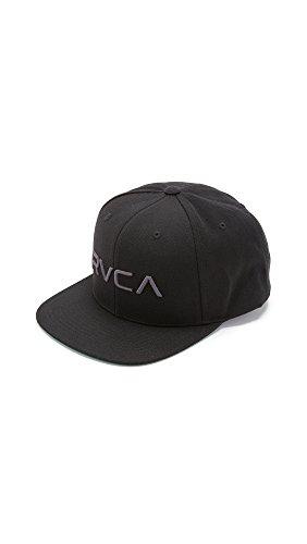 RVCA Rvca Twill Ii Snapback Hat Black 1SZ
