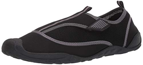 Amazon Essentials Men's Water Shoe, Black, 9/10 M US