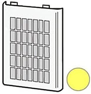シャープ プラズマクラスターイオン発生機用フィルター2813370037(吸込口・1枚)(イエロー系)[適合機種]IG-C20-Y