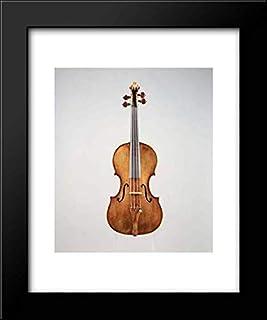 Carlo Antonio Testore - 20x24 Framed Art by Museum Prints Titled: Violin