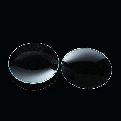 EsportsMJJ 10Pcs 60Mm Laboratorio Reloj Vidrio Vaso Cubierta Cóncava Platos De Cristalería De Laboratorio Suministros