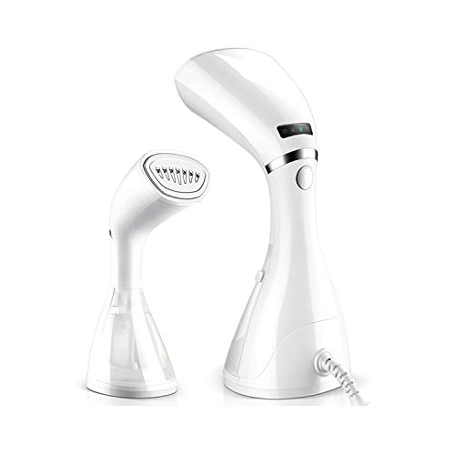 Hamnytech Clothes Steamer Garment Steamer 2 in 1 Steamer for Clothes Handheld Fabric Steamer Wrinkle Remover with Fast Heat-up Function for Home and Travel