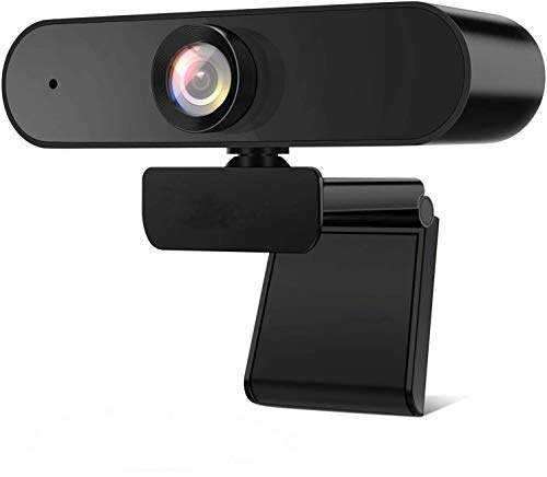 1080P Web Cameras for Computers, Microphone Recording USB Portable, Computer Cameras are Used for videoconferencing, Video Calling, e-Learning, Home Office