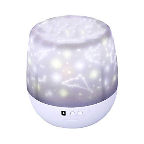 Color Magic Drill Projector Starlight universal de LED giratorio inteligente (13,3 x 12,7 cm) rotado